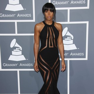 Kelly Rowland in 55th Annual GRAMMY Awards - Arrivals