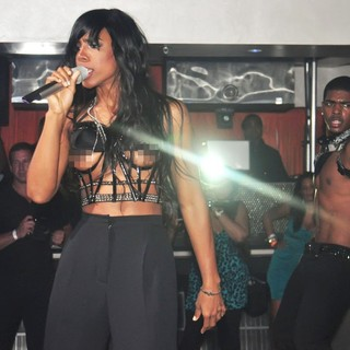Kelly Rowland in Kelly Rowland Performing at Club 4Sixty6 Where She Suffered A Wardrobe Malfunction