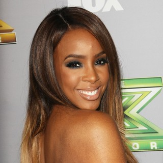 Kelly Rowland in The X Factor Season 3 Finale - Arrivals