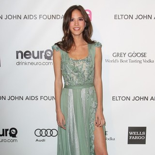 Kelsey Chow in 21st Annual Elton John AIDS Foundation's Oscar Viewing Party