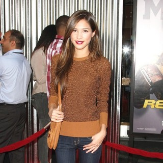 Kelsey Chow in Los Angeles Premiere of Real Steel