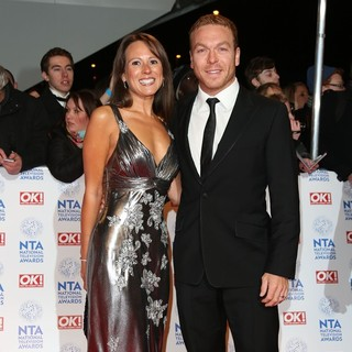 Sarra Kemp, Chris Hoy in National Television Awards 2013 - Arrivals