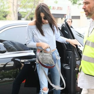 Kendall Jenner - The Kardashian Family and Lamar Odom Attend The Easter Sunday Service