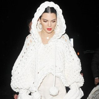 Kendall Jenner Enjoys A Night Out