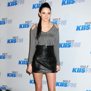 Kendall Jenner in KIIS FM's 2012 Jingle Ball - Night 2 - Arrivals