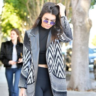 Kendall Jenner Leaves A Coffee Shop