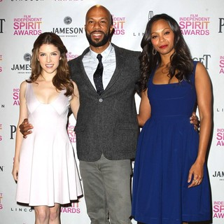 Anna Kendrick, Common, Zoe Saldana in 2013 Independent Spirit Awards Nominations Ceremony