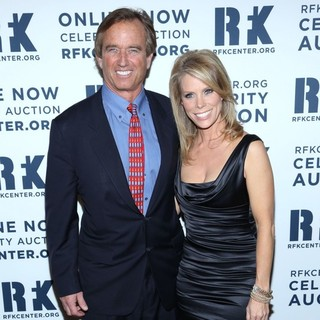 Robert F. Kennedy Jr., Cheryl Hines in The Robert F. Kennedy Center for Justice and Human Rights Presents 2012 Ripple of Hope Awards Dinner