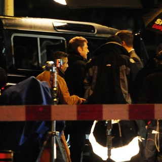 Kenneth Branagh in Shoot Scenes for Jack Ryan Movie on Location
