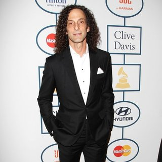 Kenny G in 2014 Pre-Grammy Gala and Grammy Salute to Industry Icons - Clive Davis