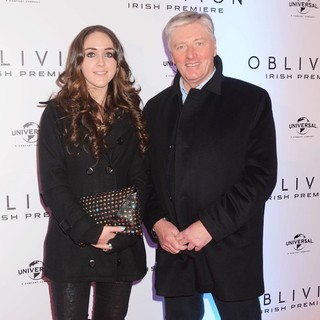 Kristina Kenny, Pat Kenny in The Irish Premiere of Oblivion - Inside Arrivals