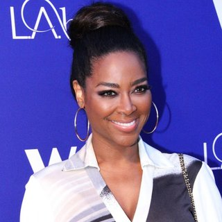 Kenya Moore in WE TV's L.A. Hair Season 3 Premiere Event - Arrivals