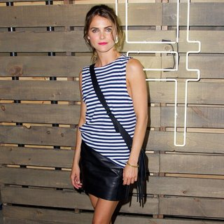 Keri Russell in Coach, Inc and Friends of The High Line Present The Fourth Annual Summer Party on The High Line