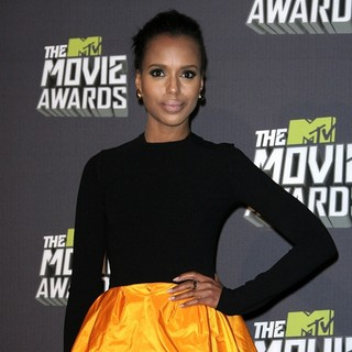 Kerry Washington in 2013 MTV Movie Awards - Press Room - kerry-washington-2013-mtv-movie-awards-press-room-01