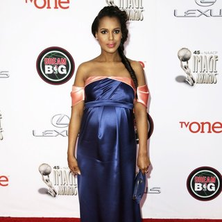 Kerry Washington in 45th NAACP Image Awards - Arrivals
