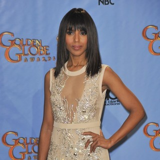 Kerry Washington in 70th Annual Golden Globe Awards - Press Room