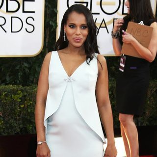 Kerry Washington in 71st Annual Golden Globe Awards - Arrivals