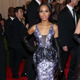 Kerry Washington in PUNK: Chaos to Couture Costume Institute Gala