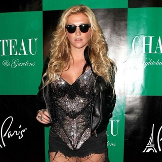 Ke$ha in K$eha Holds Her Get Sleazy Tour After Party