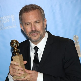 Kevin Costner in 70th Annual Golden Globe Awards - Press Room