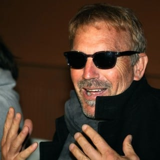 Kevin Costner in A Press Conference for Band Kevin Costner and Modern West