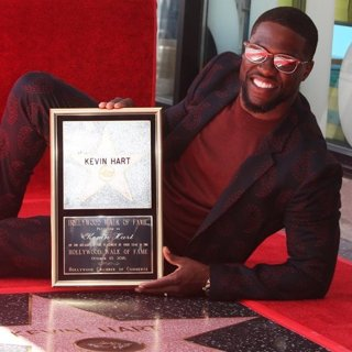 Kevin Hart Is Honored with A Star on The Hollywood Walk of Fame