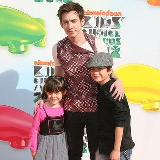 Kevin McHale in 2012 Kids' Choice Awards - Arrivals