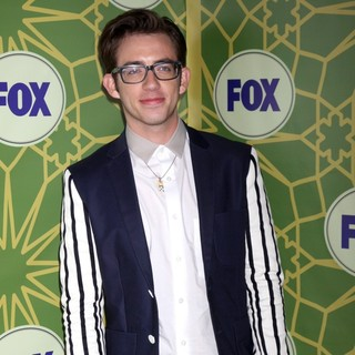 Kevin McHale in Fox 2012 All Star Winter Party - Arrivals