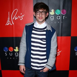 Kevin McHale in Kevin McHale Hosts A Meet and Greet for Fans and Fellow Gleeks