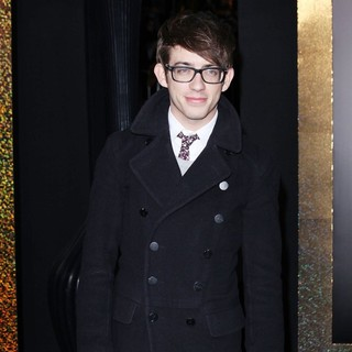 Kevin McHale in Los Angeles Premiere of New Year's Eve