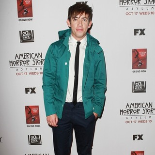 Kevin McHale in Premiere Screening of FX's American Horror Story: Asylum