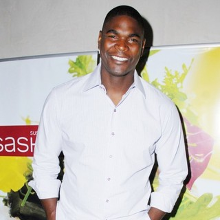 Keyshawn Johnson in Sashi Sushi and Sake Lounge Restaurant Grand Opening