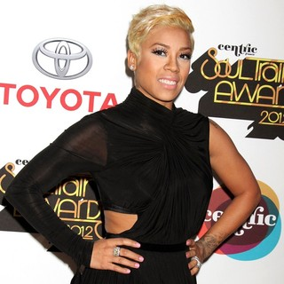 Keyshia Cole in 2012 Soul Train Awards - Arrivals