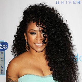 Keyshia Cole in Universal Music Group 2014 Post-Grammy Party