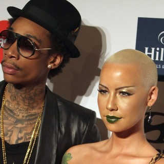 Wiz Khalifa in Clive Davis And The Recording Academy's 2012 Pre-GRAMMY Gala