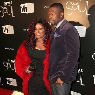 Chaka Khan, 50 Cent in The VH1 Divas Celebrates Soul - Arrivals