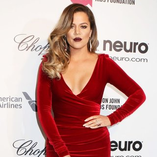 Khloe Kardashian in 22nd Annual Elton John AIDS Foundation Academy Awards Viewing Party - Arrivals