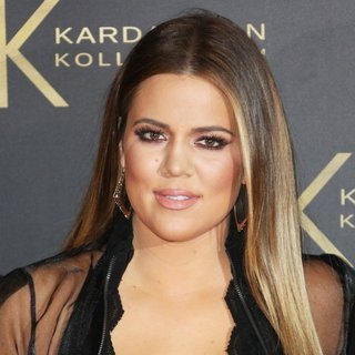 Khloe Kardashian in Kardashian Kollection for Lipsy Launch Party - Arrivals
