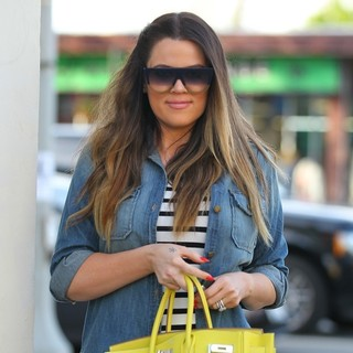Khloe Kardashian Seen Leaving On The Thirty Restaurant