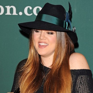 Khloe Kardashian in Kourtney Kardashian and Khloe Kardashian Sign Copies of of Kardashian Konfidential