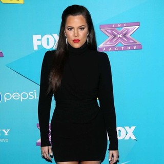 Khloe Kardashian in FOX's The X Factor Finalists Party - Arrivals