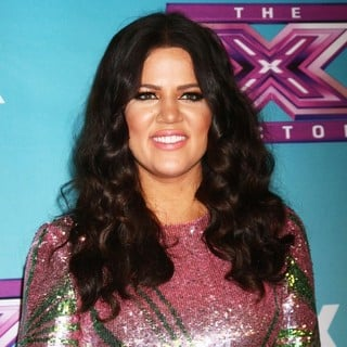 Khloe Kardashian in The X Factor Season Finale - Red Carpet Arrivals