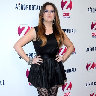 Khloe Kardashian in Z100's 2011 Jingle Ball Presented by Aeropostale - Arrivals