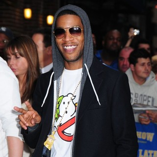 Kid Cudi - Kid Cudi Outside The Ed Sullivan Theater for The Late Show With David Letterman