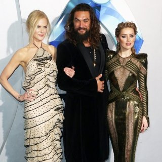 Nicole Kidman, Jason Momoa, Amber Heard in Premiere of Warner Bros. Pictures' Aquaman