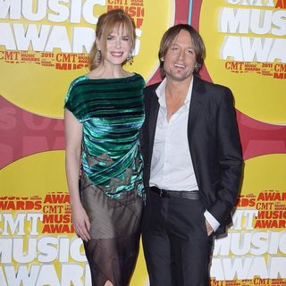 Nicole Kidman, Keith Urban in 2011 CMT Music Awards