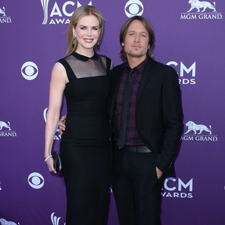 Nicole Kidman, Keith Urban in 2012 ACM Awards - Arrivals