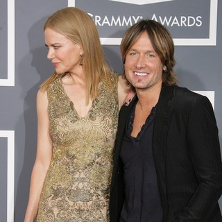 Nicole Kidman, Keith Urban in 55th Annual GRAMMY Awards - Arrivals