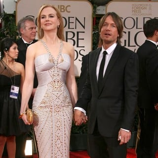 Nicole Kidman, Keith Urban in The 69th Annual Golden Globe Awards - Arrivals