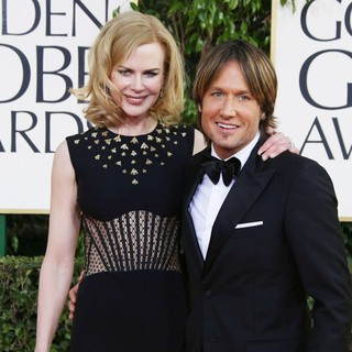 Nicole Kidman, Keith Urban in 70th Annual Golden Globe Awards - Arrivals